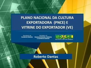 PLANO NACIONAL DA CULTURA EXPORTADORA  (PNCE) E  VITRINE DO EXPORTADOR (VE)