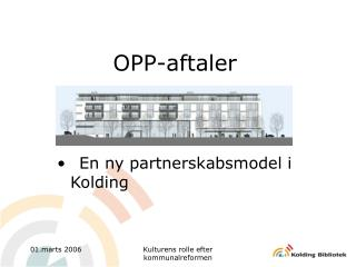 OPP-aftaler