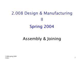 2.008-spring-2004 S.Kim