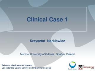 Clinical Case 1