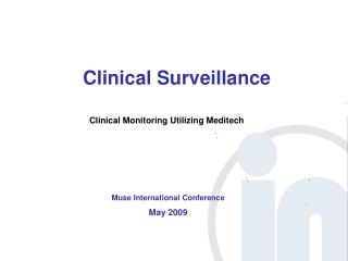 Clinical Surveillance