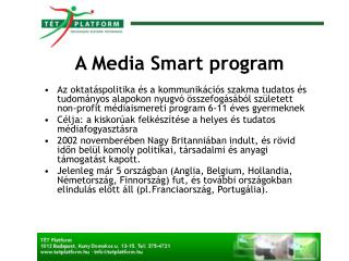 A Media Smart program