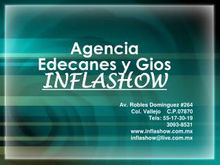 Agencia Edecanes y Gios INFLASHOW
