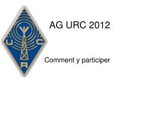 AG URC 2012