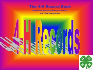 4-H Records