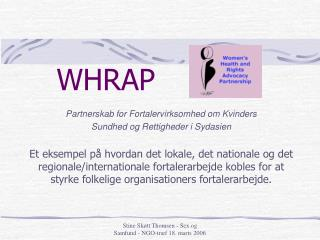 WHRAP