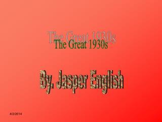 By. Jasper English