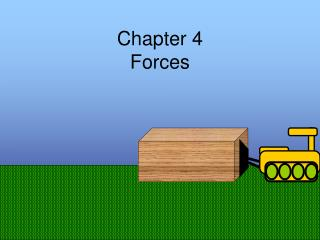 Chapter 4 Forces