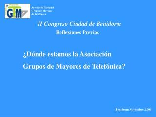 Asociación Nacional Grupo de Mayores  de Telefónica