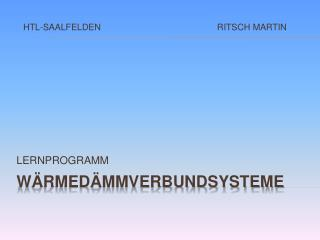 W�RMED�MMVERBUNDSYSTEME