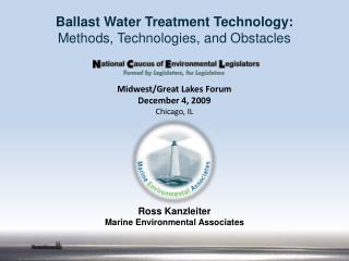 Ross Kanzleiter Marine Environmental Associates