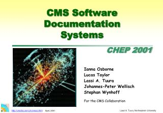 CMS Software Documentation Systems