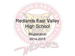Redlands East Valley  High School