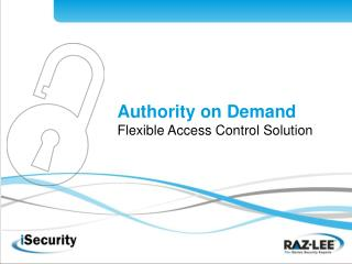 Authority on Demand Flexible Access Control Solution