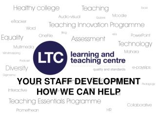 Your Staff development how we can help