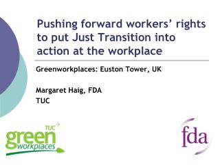 Pushing forward workers' rights to put Just Transition into action at the workplace