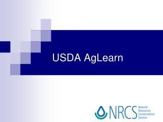 USDA AgLearn