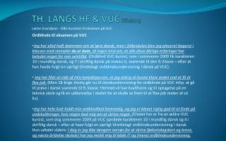 TH. LANGS HF & VUC  Silkeborg
