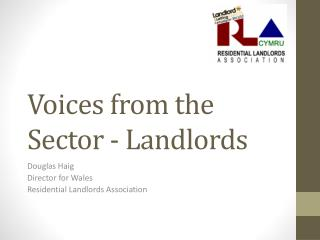 Voices from the Sector - Landlords