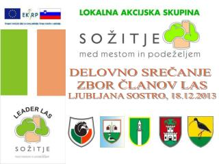 DELOVNO SREČANJE  ZBOR ČLANOV LAS LJUBLJANA SOSTRO, 18.12.2013