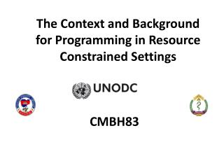 The Context and Background for Programming in Resource Constrained Settings