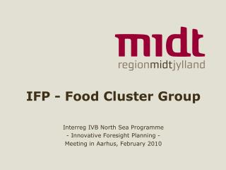 IFP - Food Cluster Group