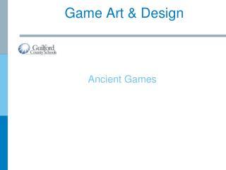 Game Art & Design