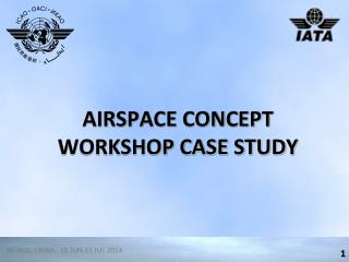 AIRSPACE CONCEPT WORKSHOP CASE  STUDY