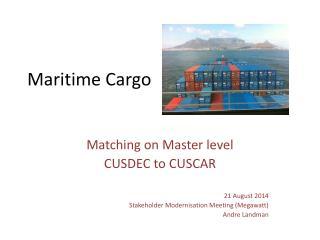 Maritime Cargo