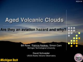 Aged Volcanic Clouds