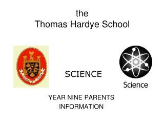 the  Thomas Hardye School