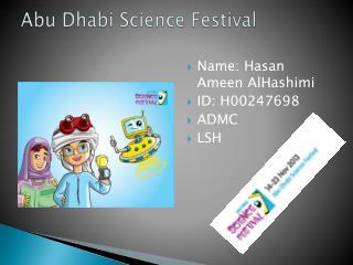 Abu Dhabi  S cience Festival