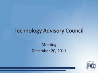Technology Advisory Council