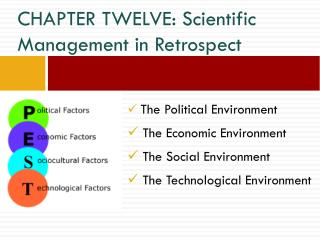 CHAPTER TWELVE: Scientific Management in Retrospect