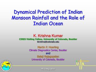 Current Practices of Dynamical Monsoon Rainfall Prediction