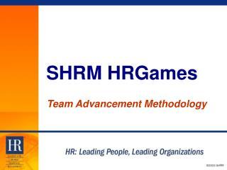 SHRM HRGames