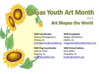 Kansas Youth Art Month