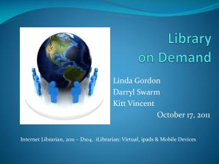 Library  on Demand