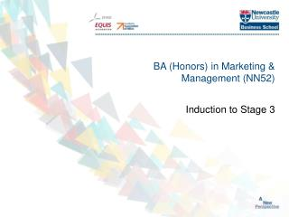 BA (Honors) in Marketing & Management (NN52)