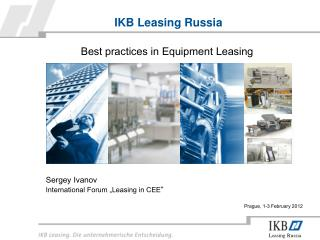 IKB Leasing Russia