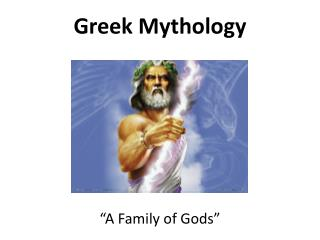 �A Family of Gods�