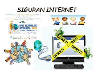 SIGURAN INTERNET