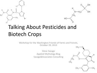 Talking About Pesticides and Biotech Crops