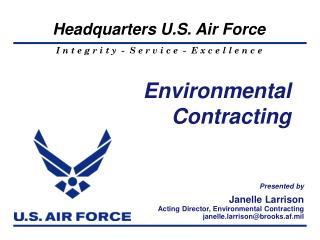 Environmental Contracting