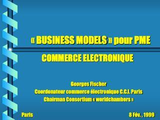 «BUSINESS MODELS» pour PME