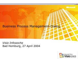 Business Process Management-Dialog
