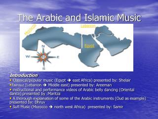 The Arabic and Islamic Music