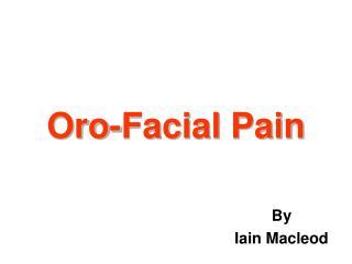 Oro-Facial Pain