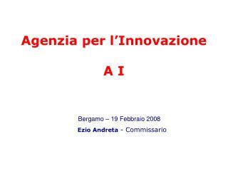 Agenzia per l'Innovazione  A I