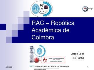 RAC – Robótica Académica de Coimbra